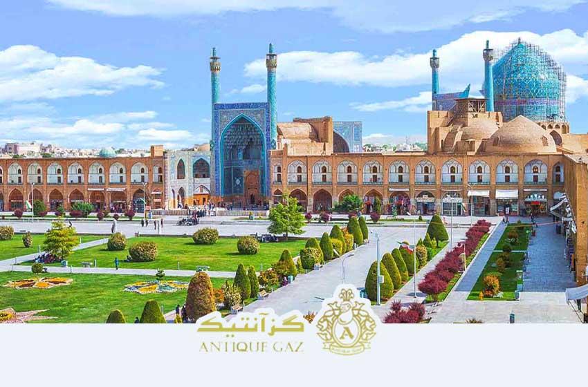 اصفهان بهترین شهر تولید کننده پولکی