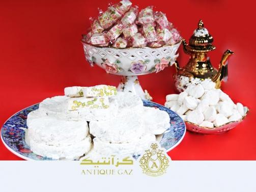 انواع گز مختلف اصفهانی