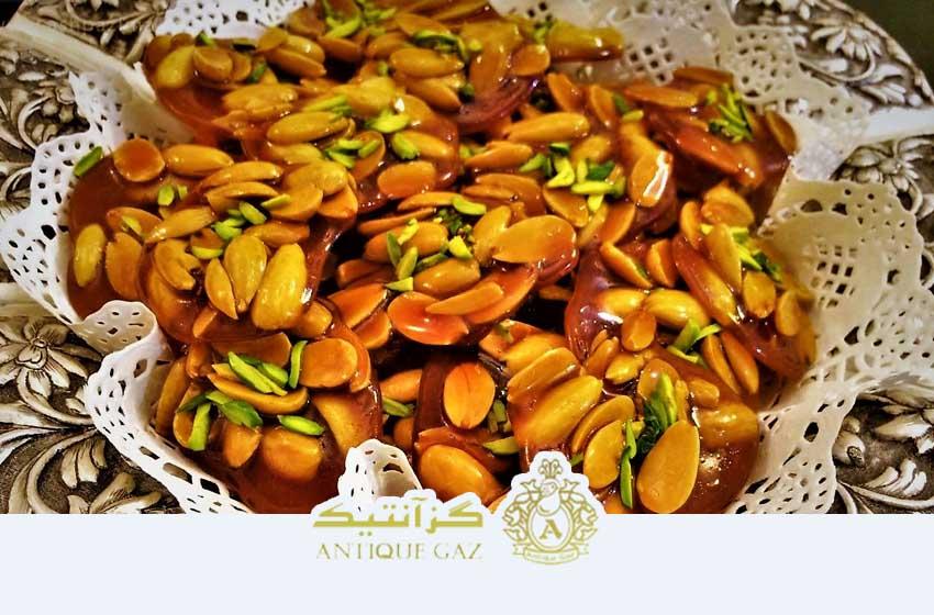 سوهان عسلی محصول اصفهان